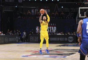 【NBA全明星】利拉德:暂停时库里&保罗和我计划玩玩空接和远投